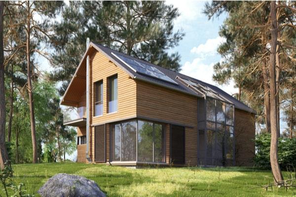 Architecture maison écologique